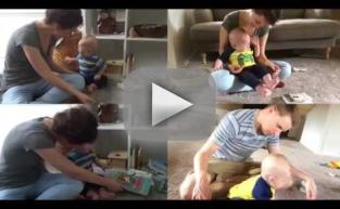 Baby Totally Loses It Every Time He Finishes a Book
