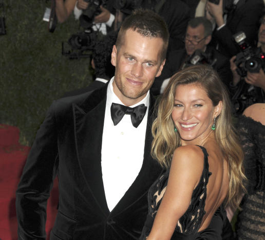 Tom Brady with Gisele