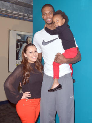 Chris Bosh, Wife