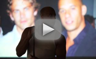 Vin Diesel Tribute to Paul Walker