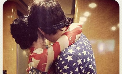 Katy Perry, John Mayer Share Patriotic July 4 Embrace