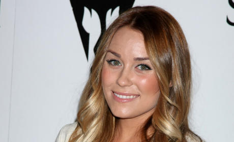 Lauren Conrad Not a Fan of the Seat Belt