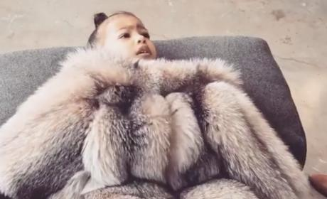 Kim Kardashian Shares Precious Video of North West