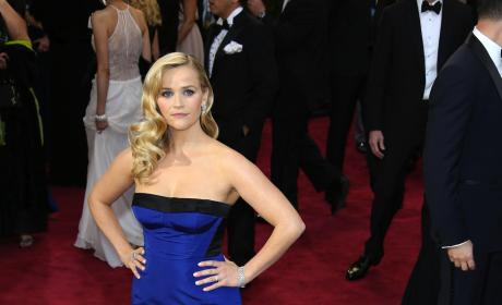 Reese Witherspoon Oscars Dress
