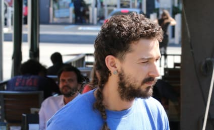 Shia LaBeouf Rocks New 'Do: The Braided Rattail!?!