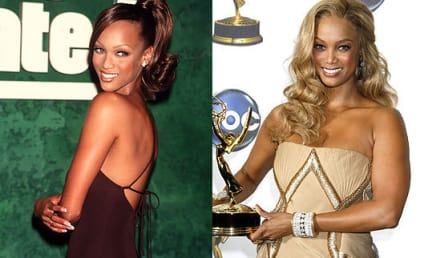 Tyra Banks: A Blonde Bombshell... or A Blonde Bomb?