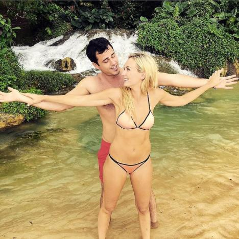 Ben Higgins and Lauren Bushnell on Vacation