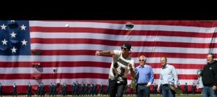 Tom Brady Throws Out First Pitch, Should Not Consider Career Change