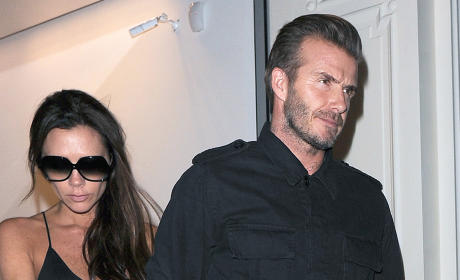 Victoria Beckham Defends Marriage: We're Happy, Healthy, Blessed