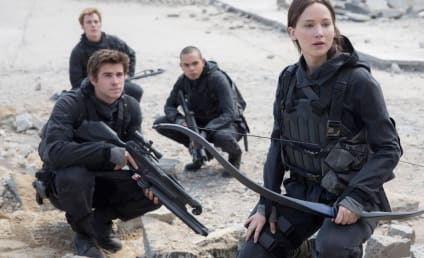 The Hunger Games Mockingjay - Part 2: First Photo!
