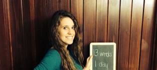 Jill Duggar Baby Bump Photo: 13 Weeks and Counting!