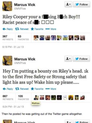 Marcus Tweets