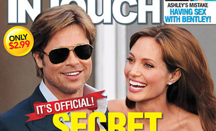 Brad Pitt and Angelina Jolie: The Secret Wedding!