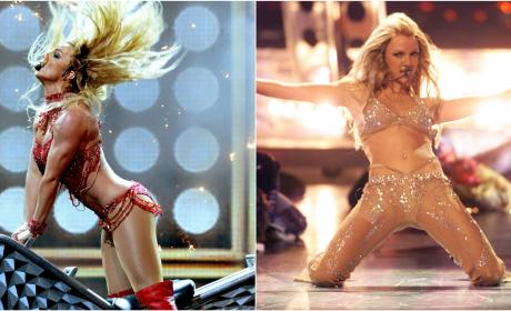 Britney Spears Performannce: 2016 Billboard Music Awards and 2000 Video Music Awards
