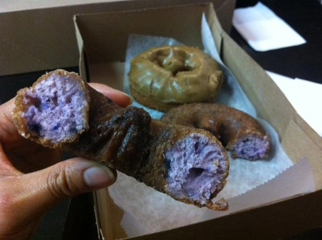 Donuttery Vegan Blueberry Donuts