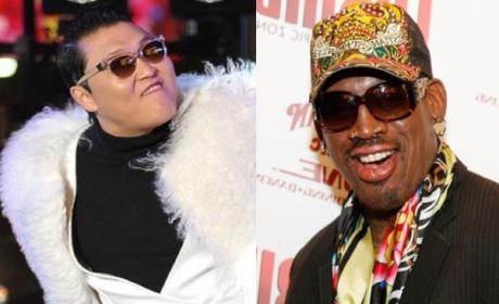 Dennis Rodman Offends PSY With North Korea Comment, Creates Twitter Gem