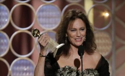 Jacqueline Bisset Reacts to Golden Globes Speech: What Did I Say?!?