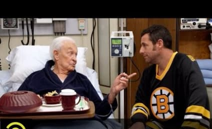 Adam Sandler and Bob Barker Recreate Epic Happy Gilmore Fight: Watch Now!