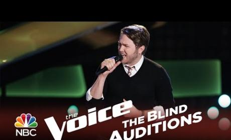 Luke Wade - That's How Strong My Love Is (The Voice Audition)