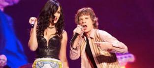 Katy Perry and Mick Jagger: Gyrating in Concert!