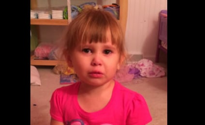 Toddler Defends Illicit Nail Polishing, Tells Dad to Blame Barbie
