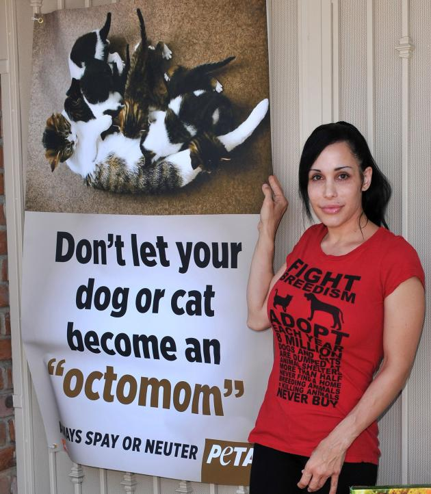 Octomom For PETA