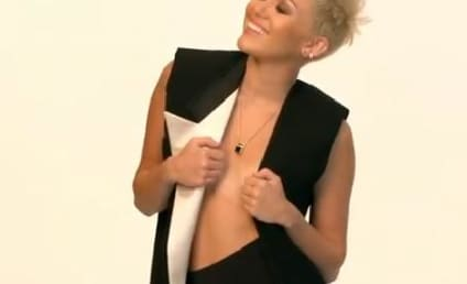"""Miley Cyrus Takes Fans """"Behind the Cover"""""""