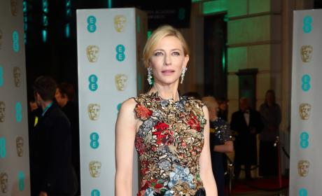 Cate Blanchett: 2016 EE British Academy Film Awards