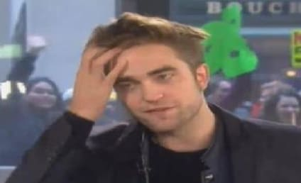 Robert Pattinson Laughs Off Kristen Stewart Question on The Today Show