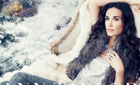 Demi Moore Sizzles in Ann Taylor Ad Campaign