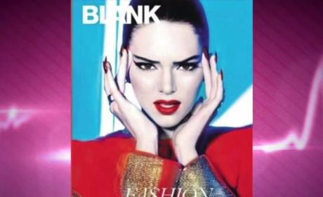 Kendall Jenner Goes Blank, Poses for Random Magazine