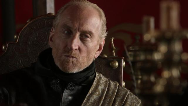 Charles Dance as Tywin Lannister