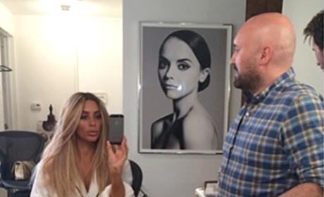 Kim Kardashian: Sort of Back to Blonde!
