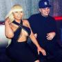 Blac Chyna and Rob Kardashian looking happy