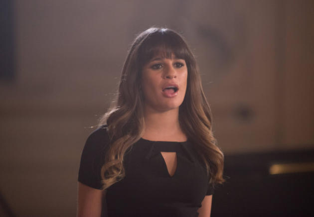 Lea Michele on Glee