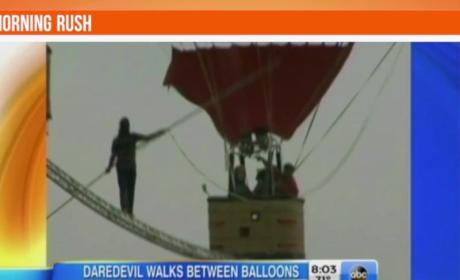 Man Set Fastest High Wire Walk Record