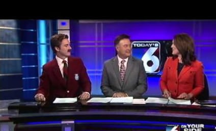 Local Sports Anchor Does Full Segment as Ron Burgundy