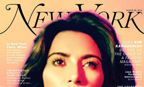 Kim Kardashian New York Cover