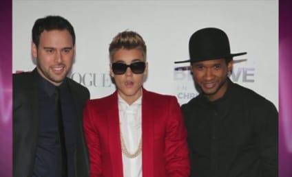 """Usher Blames Bad Justin Bieber Behavior on """"More Money, More Problems"""""""