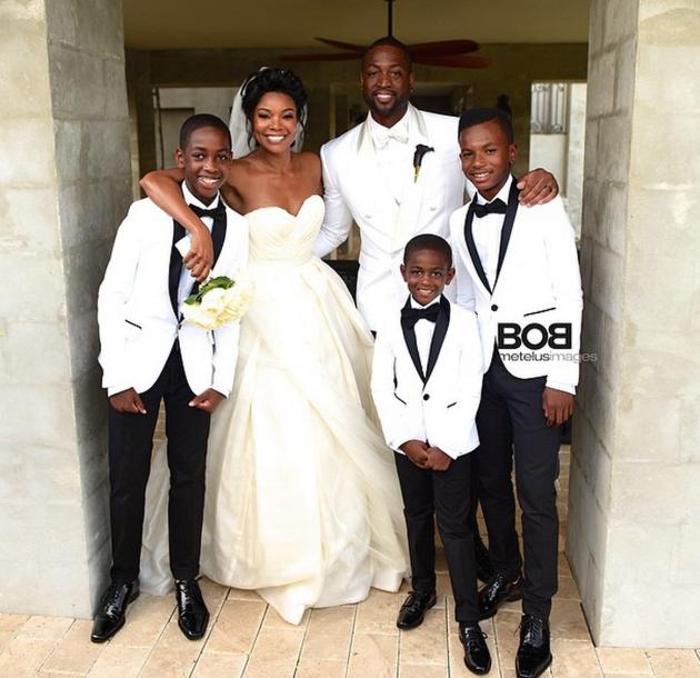 Gabrielle Union Wedding Dress