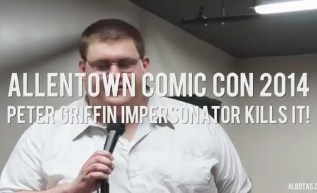 Robert Franzese, Stand-Up Comic in Pennsylvania, Sounds JUST LIKE Peter Griffin