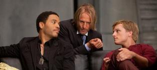 Cinna, Haymitch and Peeta