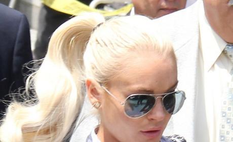 Lindsay Lohan Pony Tail