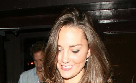 Will and Kate Leave Boujis In October 2007