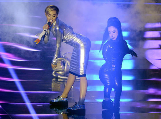 Miley Cyrus at the EMAs