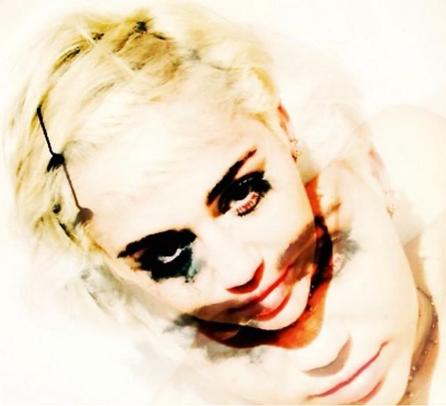 Miley Cyrus Joker Photo