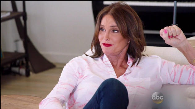 Caitlyn Jenner on the Couch
