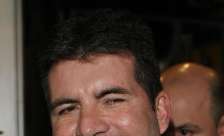 Simon Cowell Chest Hair