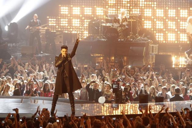 Adam Lambert Europe Music Awards Performance