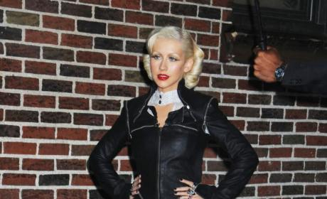 Christina Aguilera: No Pants? No Problem!